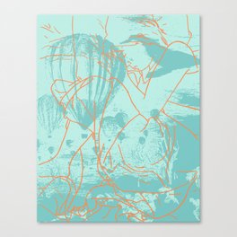 Pacific Ocean Trails Canvas Print