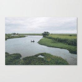 Fishing Mozambique Canvas Print