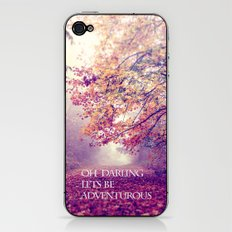 oh darling, lets be adventurous iPhone & iPod Skin