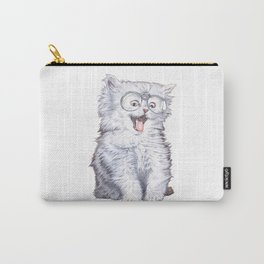 A cat with glasses Carry-All Pouch