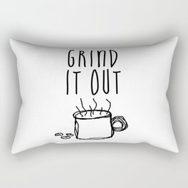 Grind It Out Rectangular Pillow