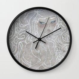 Young Medusa Wall Clock