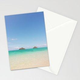 Secret Beach Views to Lanikai Stationery Cards