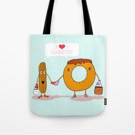 Odd couple Tote Bag