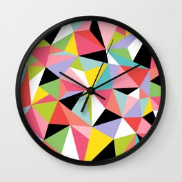 Geometric Jane Wall Clock