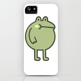 Awesome Frog iPhone Case