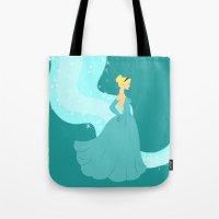 cinderella Tote Bags featuring Cinderella by Eva Duplan Illustrations