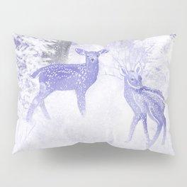 Winter Fawns Pillow Sham