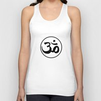 om Tank Tops featuring Om by Albino Chewbacca