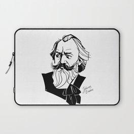 Johannes Brahms Laptop Sleeve
