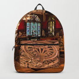 Newport Mansions, Rhode Island - Marble House - Gothic Room Backpack