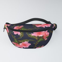 Pink Rhododendron Fanny Pack