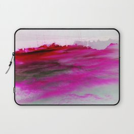 Purple Clouds Red Mountain Laptop Sleeve