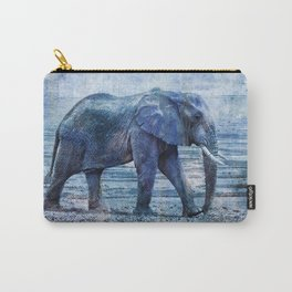The Elephants Journey Blue Moon Carry-All Pouch