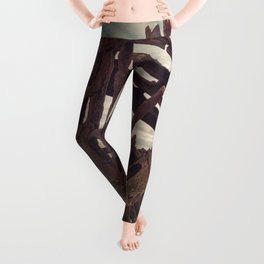 Shipwrecked - The Peter Iredale Leggings