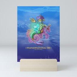 Manannán mac Lir  • Son of the Sea Mini Art Print