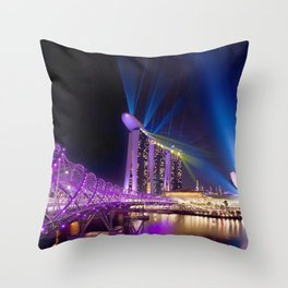 Singapore Gardens By The Bay Throw Pillow