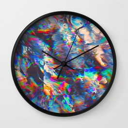 TOUCHING FROM A DISTANCE Wall Clock