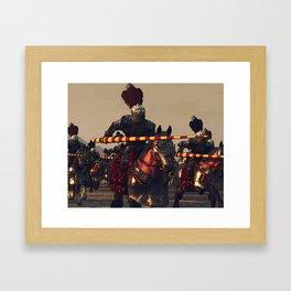 Medieval Chivalry Framed Art Print