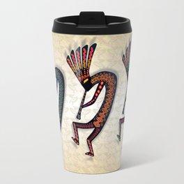 THREE KOKOPELLI Travel Mug