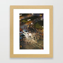 Small Places from the Big Mexico City Series (I) Framed Art Print