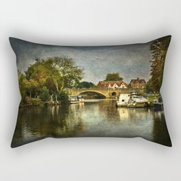 Abingdon Bridge Rectangular Pillow
