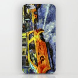 New York Taxis Art iPhone Skin