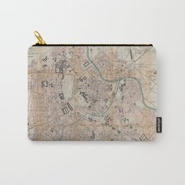 Vintage Map of Vienna Austria (1872) Carry-All Pouch