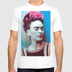 Frida Mens Fitted Tee White MEDIUM