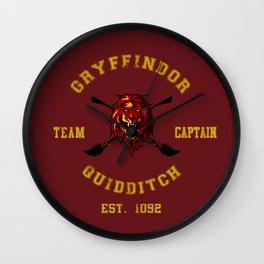 Legend Team Of Quidditch Wall Clock