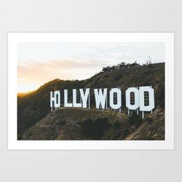 Hollywood Sign (Los Angeles, CA) Art Print