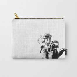Cyborg Detective Kitty Carry-All Pouch
