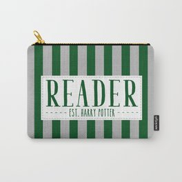 Reader Est. Slytherin Carry-All Pouch