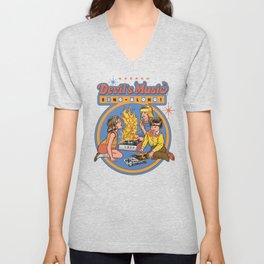 DEVIL'S MUSIC SING-ALONG Unisex V-Neck