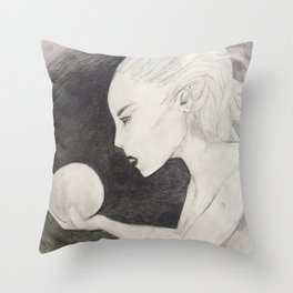 Orb Gaze Throw Pillow