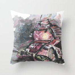 Chinese warrior Throw Pillow