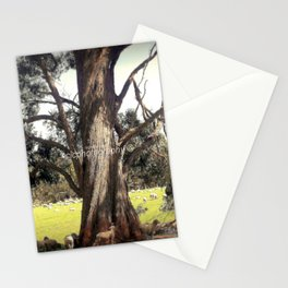Under the shade of a Coolabah Tree Stationery Cards