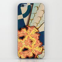 zentangle iPhone & iPod Skins featuring Zentangle by Trevor Seymour