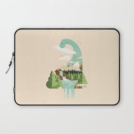 Lake monster - Bon Nûl Laptop Sleeve