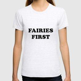 Fairies first T-shirt