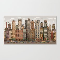 Down Town Canvas Print