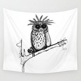 Metal Owl Wall Tapestry