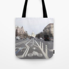In the Streets of DC Tote Bag