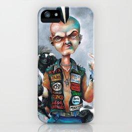 Skunk Punk iPhone Case
