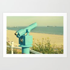 Sea Sight Art Print