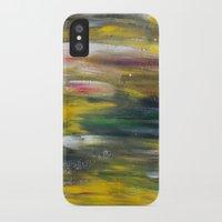 gustav klimt iPhone & iPod Cases featuring Gustav Klimt Fantasy Prolonged  by Lucid Infinity Art and Design