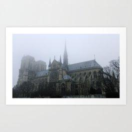 Notre-Dame de Paris Art Print