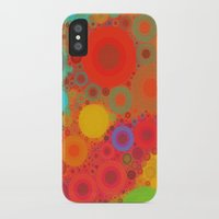 circles iPhone & iPod Cases featuring Circles by Mr & Mrs Quirynen