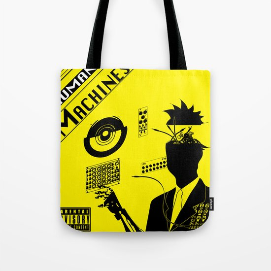 Human Machines Tote Bag