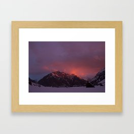 Atardece Framed Art Print